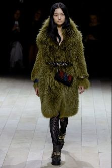 Burberry Autumn/Winter 2016 fur